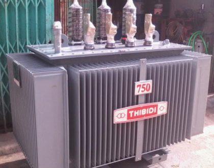 Máy biến áp cũ cần được đặt đúng nơi để đảm bảo được bảo quản tốt